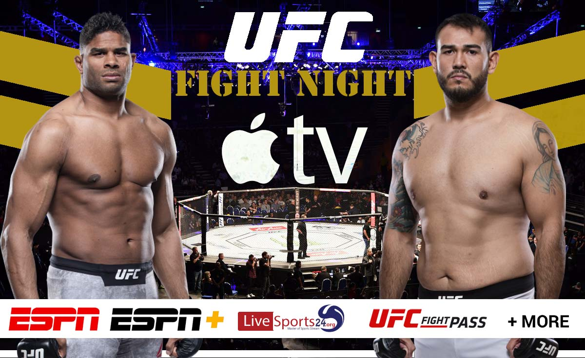 Overeem vs Sakai | How to Watch UFC Overeem vs Sakai on Apple TV For Free