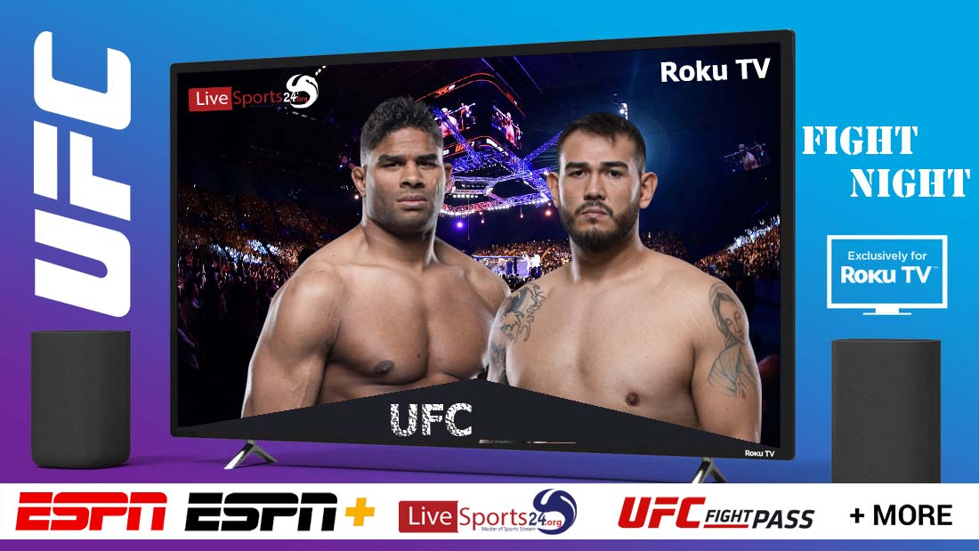 Overeem vs Sakai | How to Watch UFC Overeem vs Sakai on Roku For Free