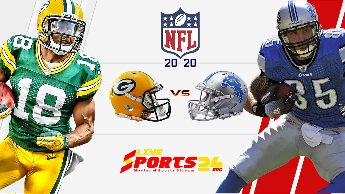 NFL 2019 Green Bay vs Detroit Live Stream