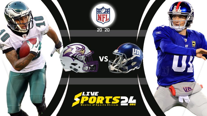 Eagles vs Giants live