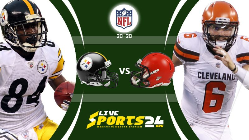 Steelers vs Browns live