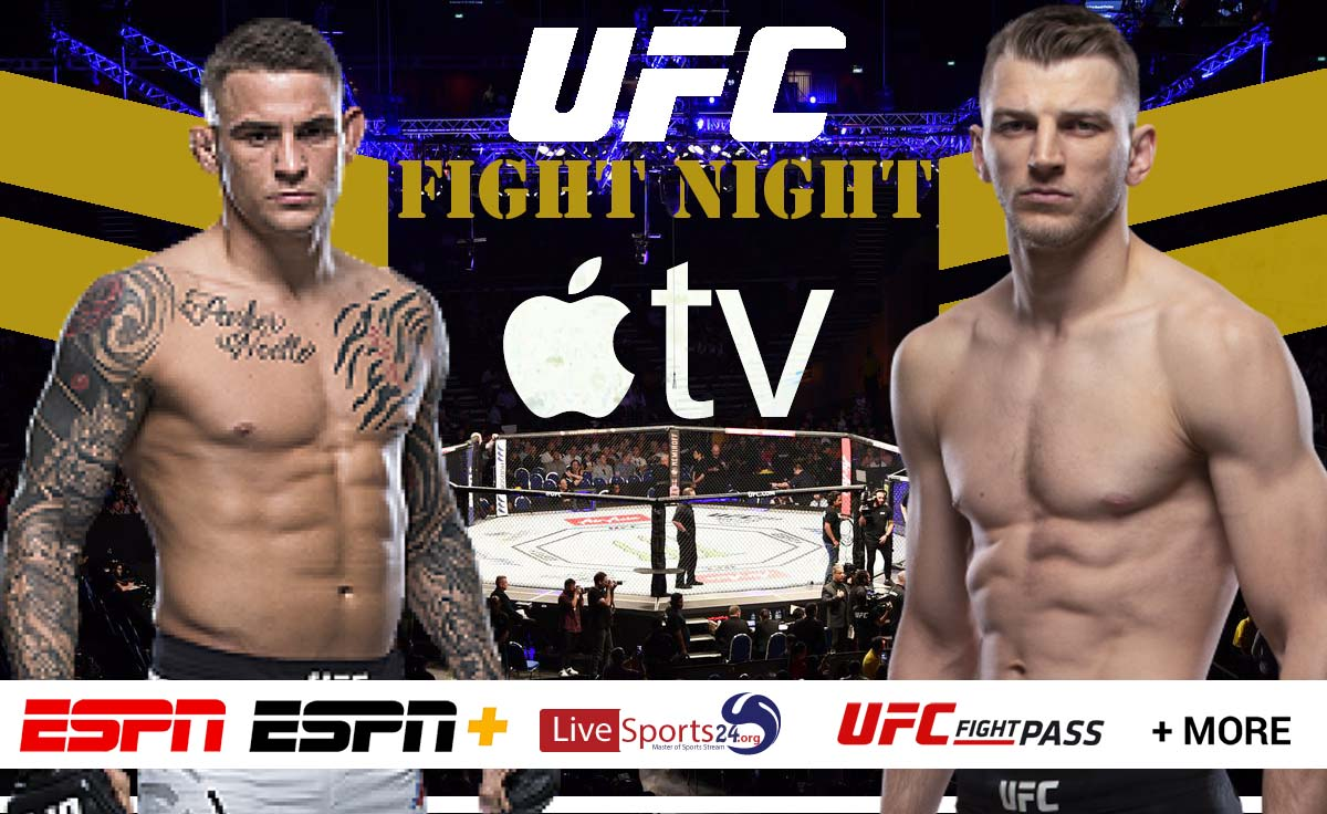 How to Watch UFC Poirier vs Hooker on Apple TV For Free