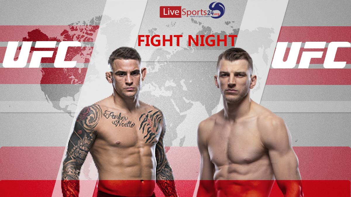How to Watch UFC Poirier vs Hooker Live Online without Cable?
