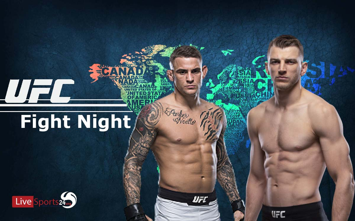How to Watch UFC Poirier vs Hooker From Anywhere in the World?