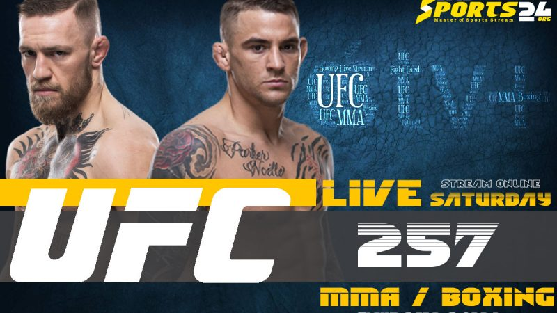 Watch UFC 257 on Apple TV