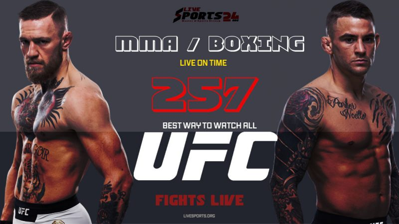 Watch UFC 257 on Firestick