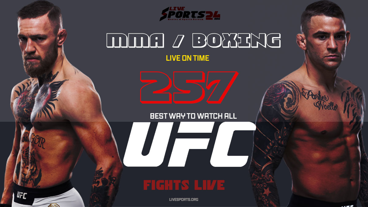 Poirier vs McGregor | How to Watch UFC 257 on Firestick For Free