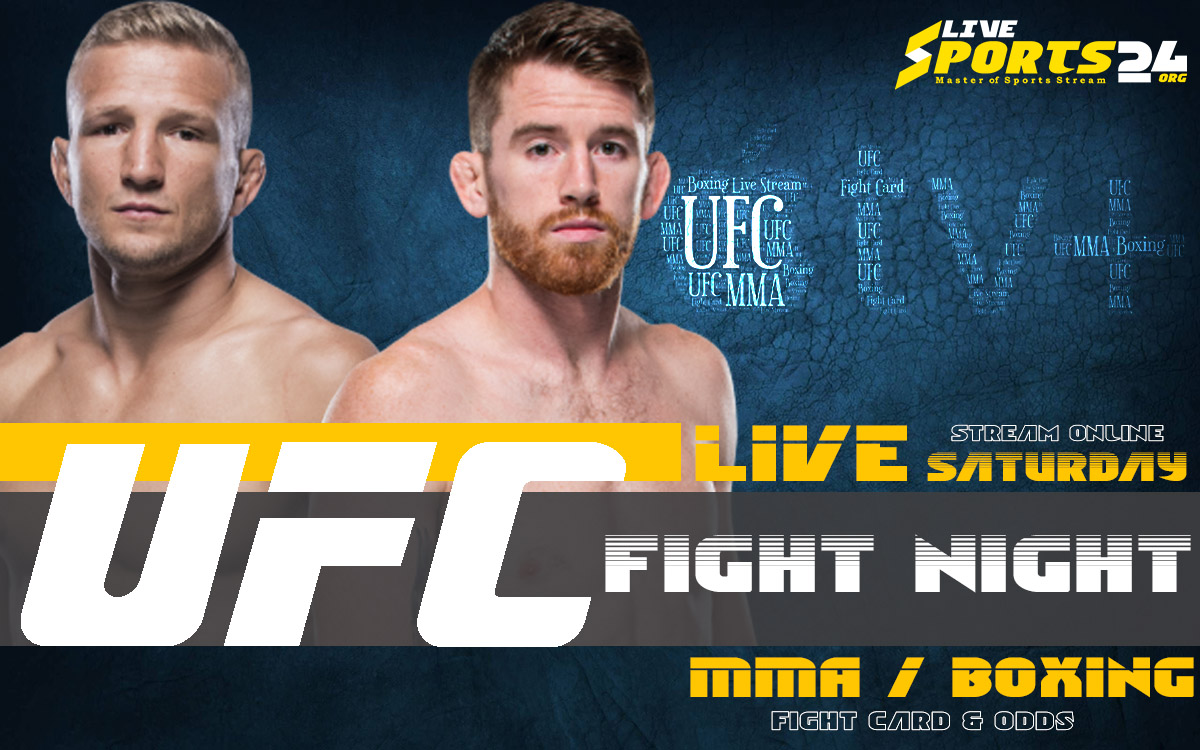 Sandhagen vs Dillashaw | How to Watch UFC Fight Night on Apple TV For Free