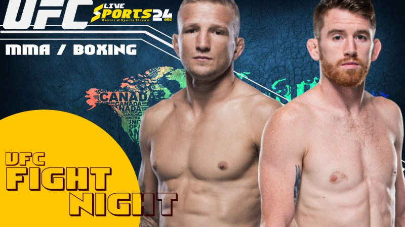 How to Watch UFC Sandhagen vs Dillashaw