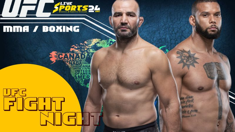UFC Fight Night 182 Live Stream