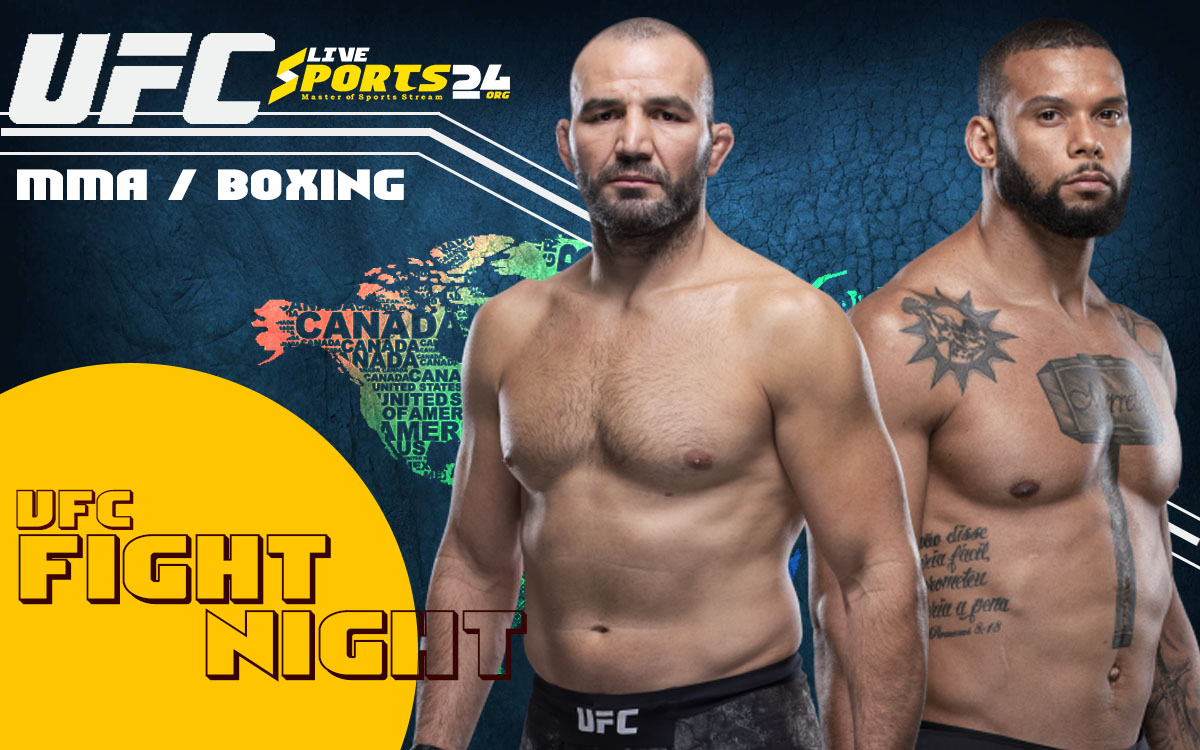 How Can UFC Fight Night 182 Live Stream Reddit, Facebook, Twitter, YouTube
