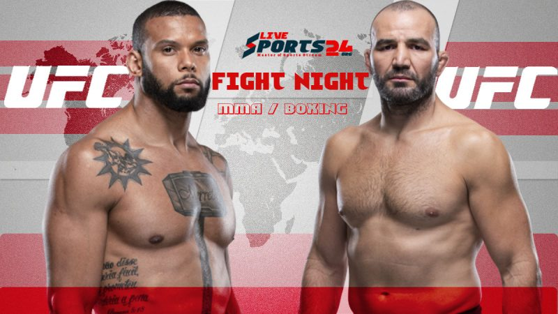 UFC Fight Night 182 Live