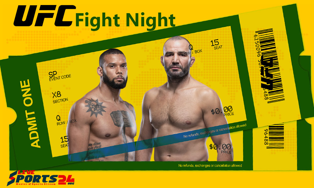 Must be considered in Buying UFC Fight Night 182 Tickets online