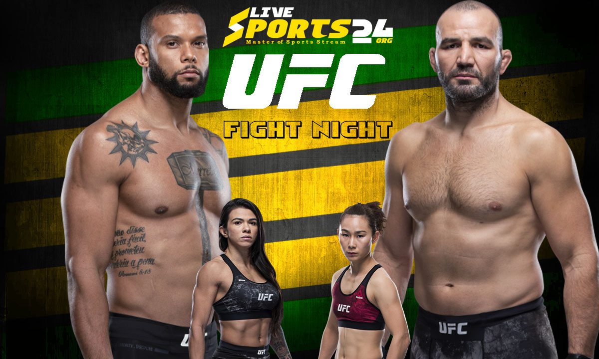 Santos vs Teixeira Fight: What we to know about UFC Fight Night 182 Fight Card