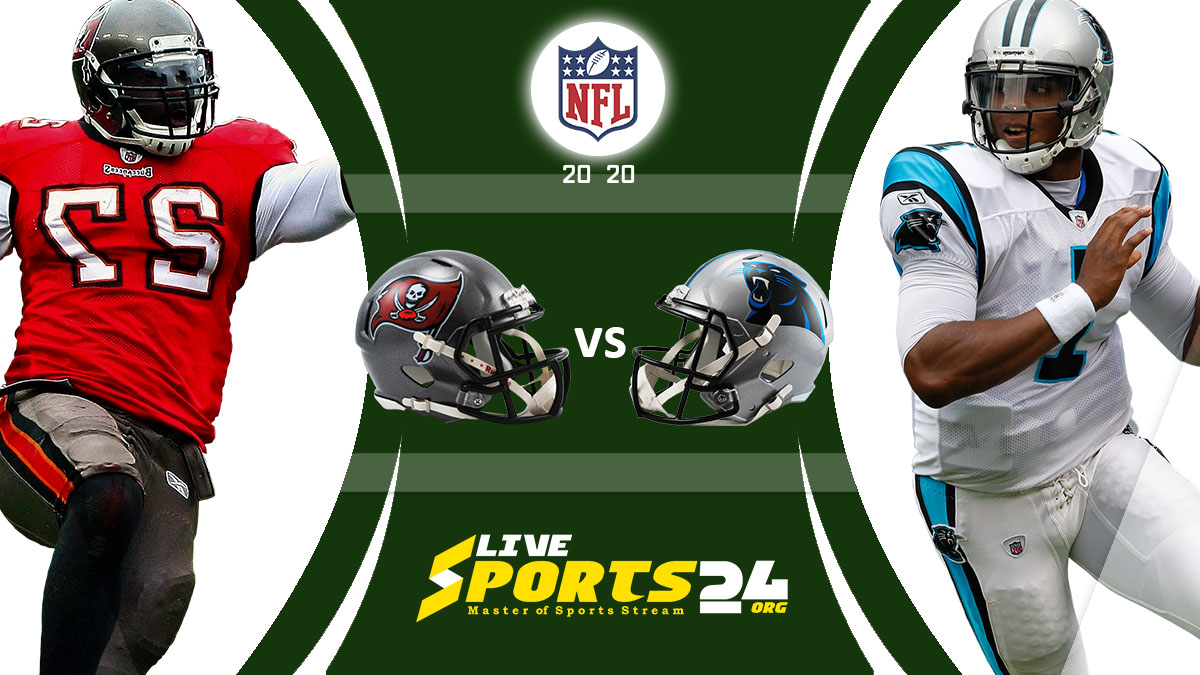Buccaneers vs Panthers Live: How to watch Tampa Bay vs Carolina live Prediction & odds