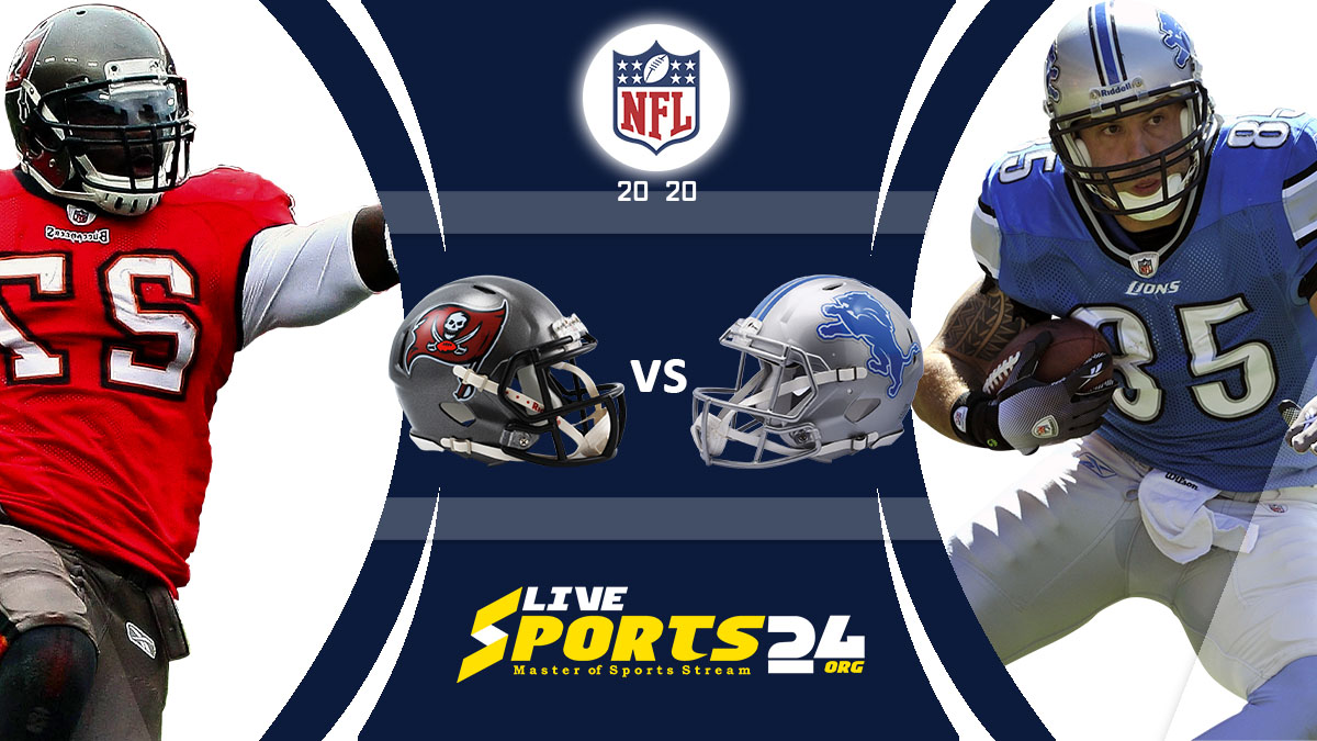 Buccaneers vs Lions Live: How to watch Tampa Bay vs Detroit live Prediction & odds