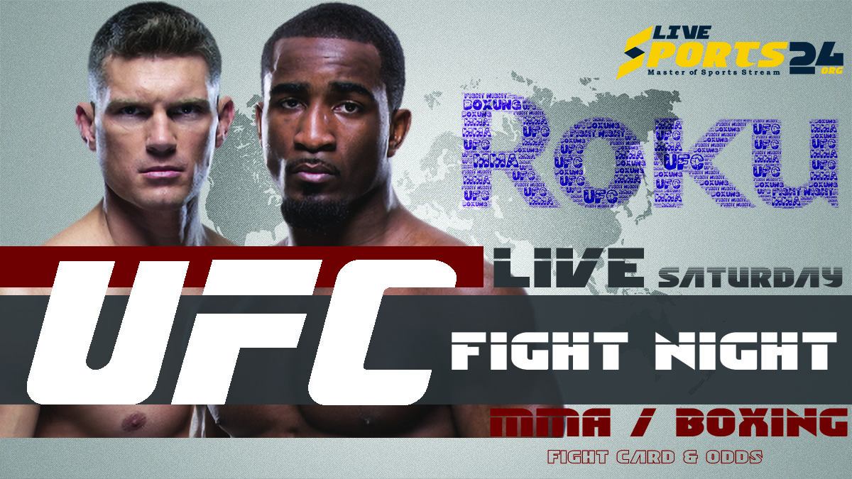 Thompson vs Neal | How to Watch UFC Thompson vs Neal on Roku For Free