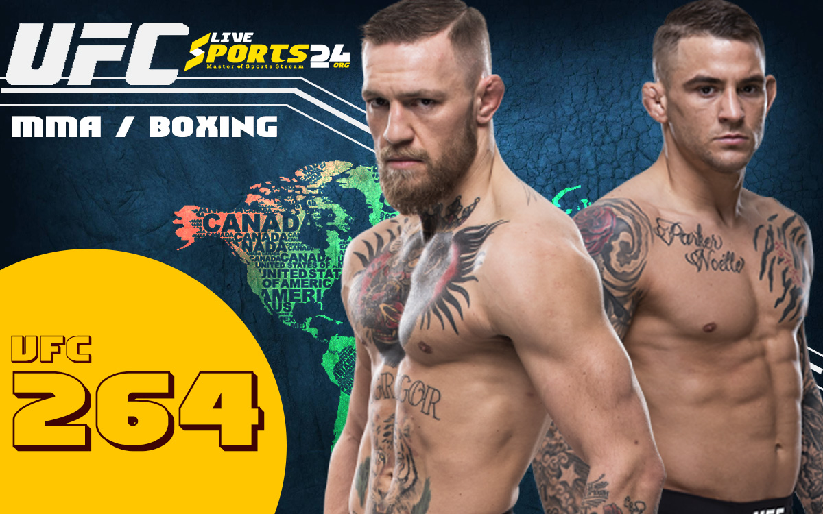 UFC 264 Live Stream: How to Watch Poirier vs McGregor Free From Anywhere?