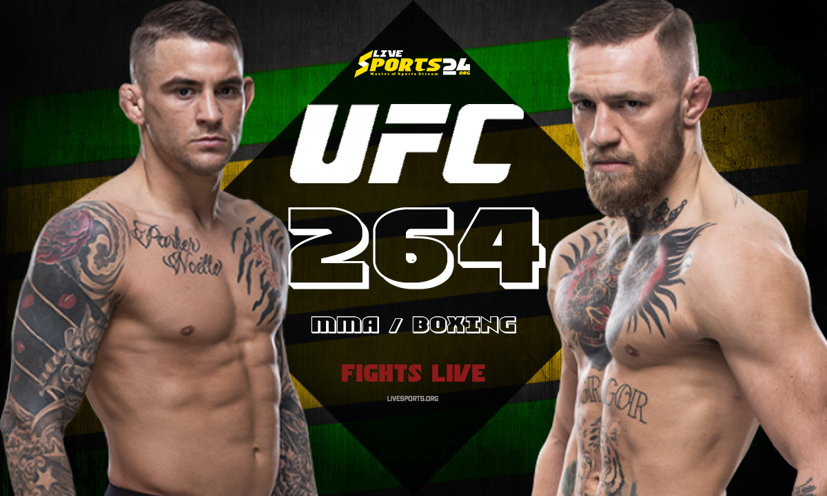 Poirier vs McGregor Fight: What we to know about UFC 264 Fight Card