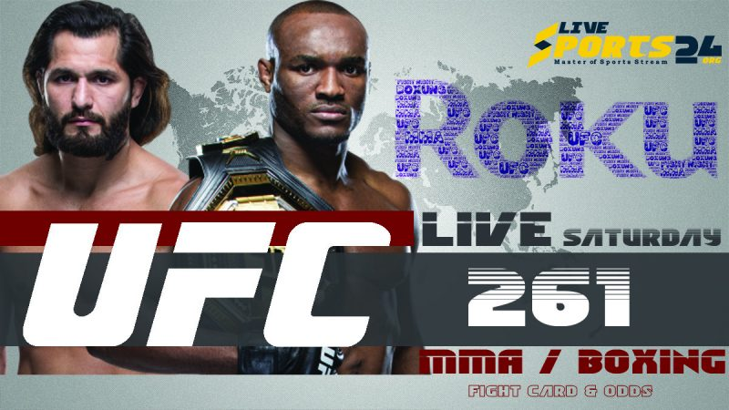 Watch UFC 261 on Roku