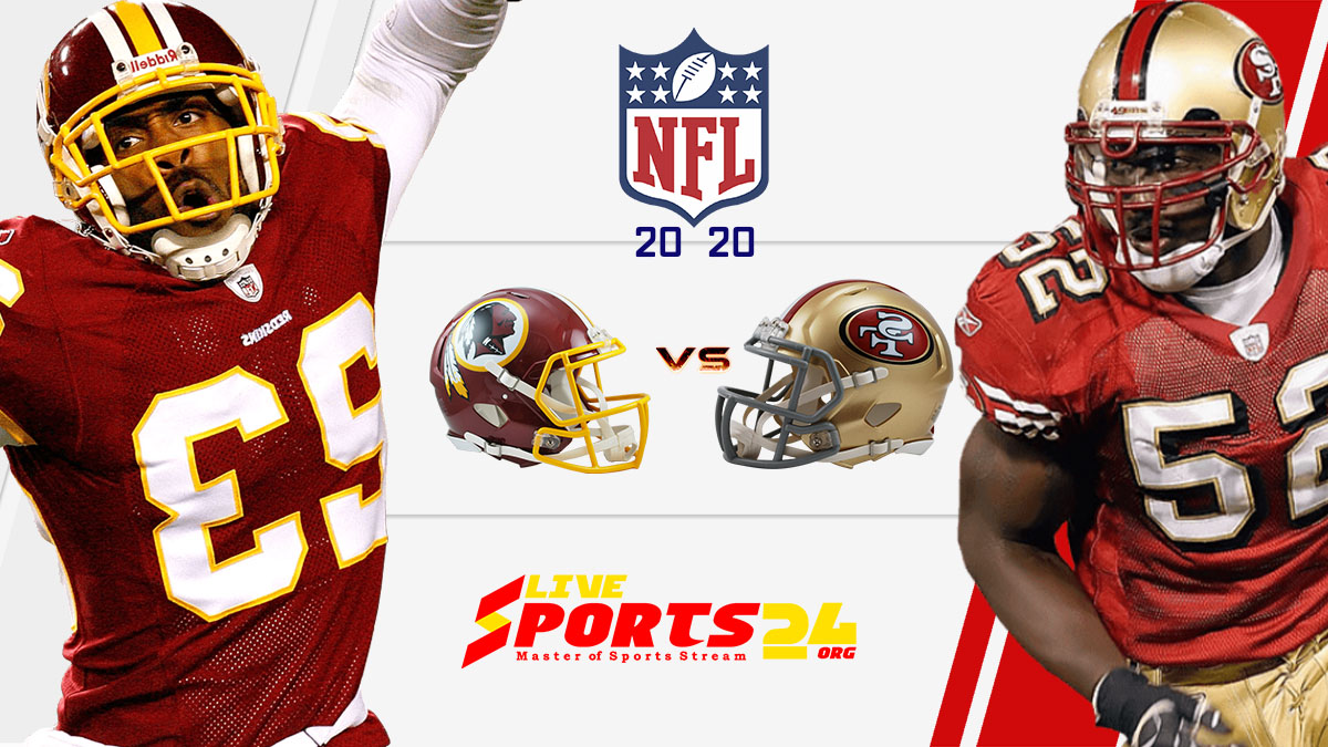 Washington vs 49ers live