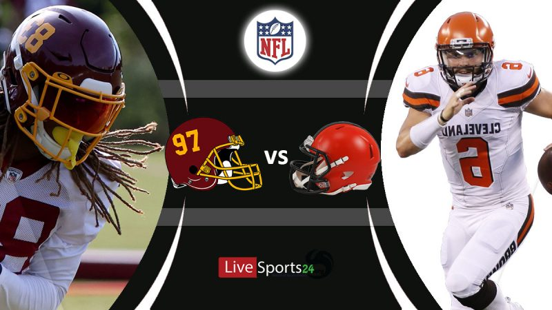 Washington vs Browns live