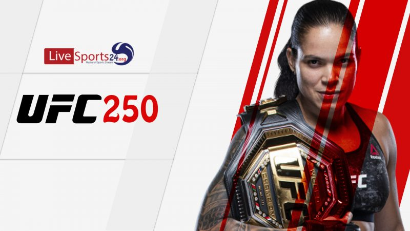 When is the UFC 250