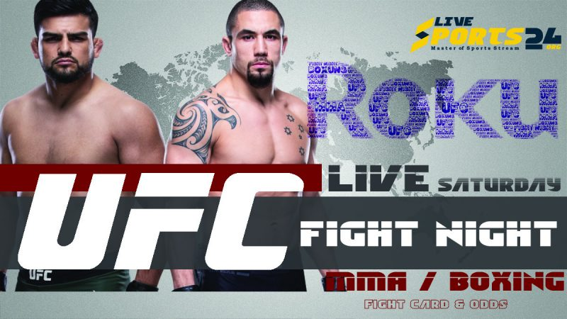 Watch UFC Whittaker vs Gastelum on Roku