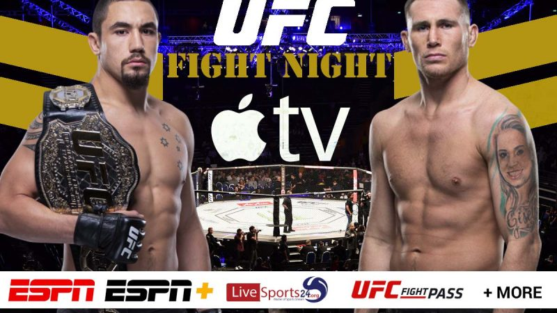 Watch UFC Fight Night 174 on Apple TV