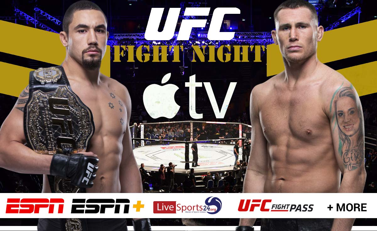 Whittaker vs Till | How to Watch UFC Fight Night 174 on Apple TV For Free