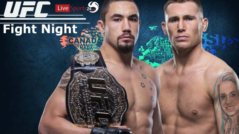 Watch UFC Fight Night 174 Live