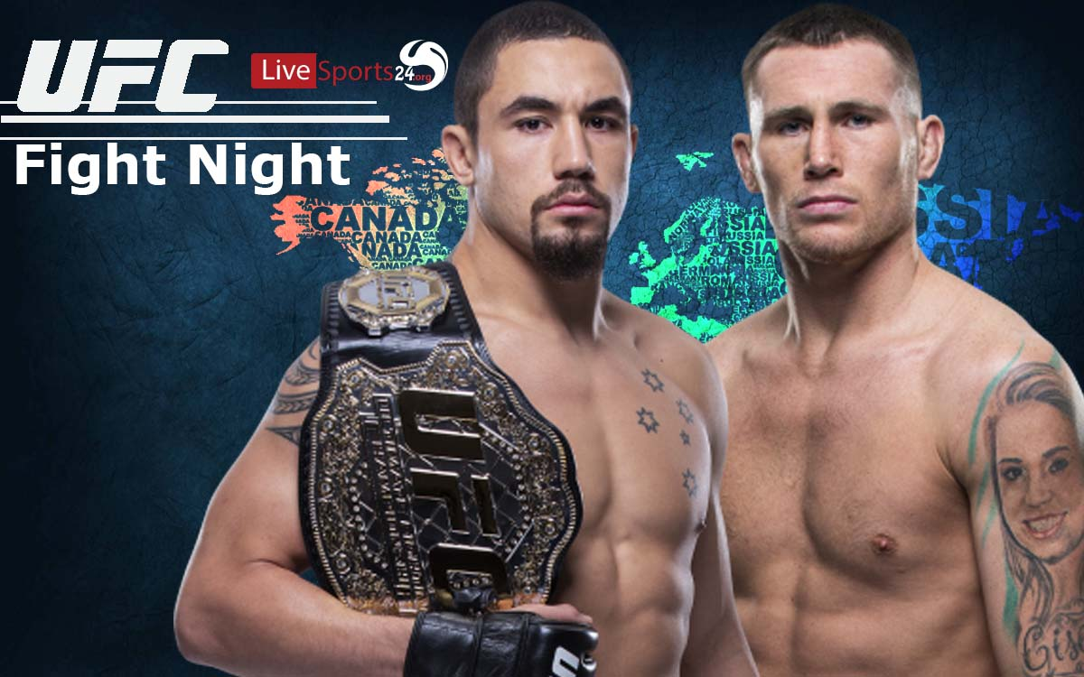 Watch UFC Fight Night 174 Live Whittaker vs Till in More Affordable Way