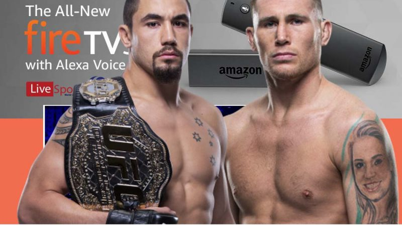 Watch UFC Fight Night 174 on Firestick