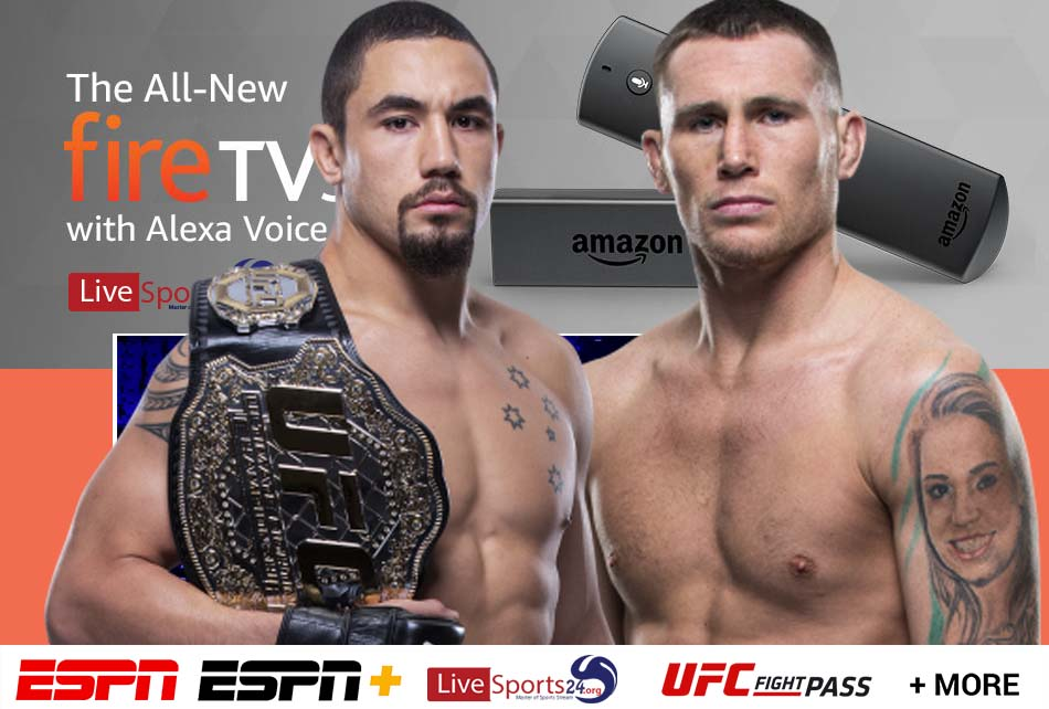 Whittaker vs Till | How to Watch UFC Fight Night 174 on Firestick For Free