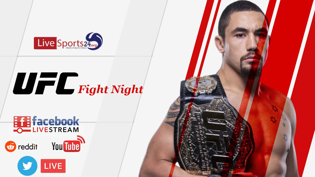 How Can UFC Fight Night 174 Live Stream Reddit, Facebook, Twitter, YouTube