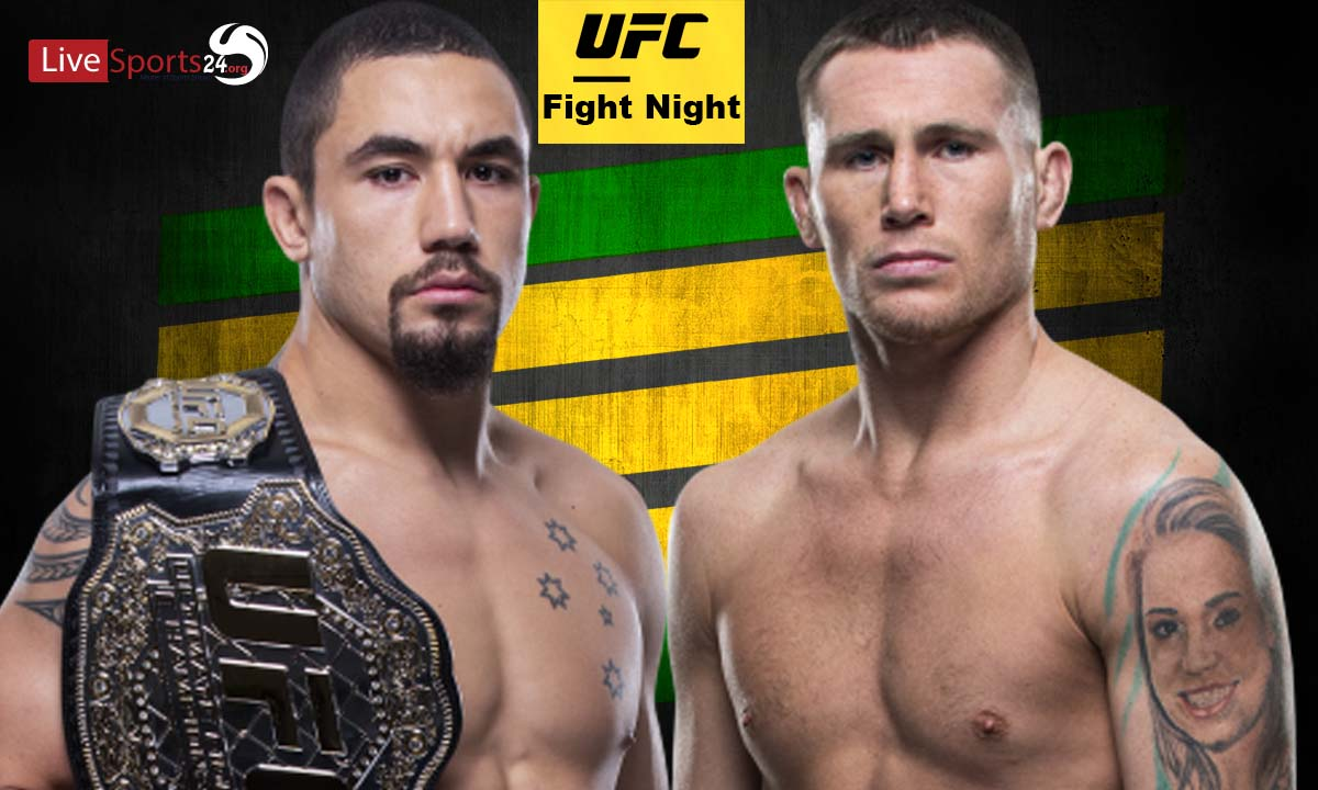 UFC Fight Night 174 Live